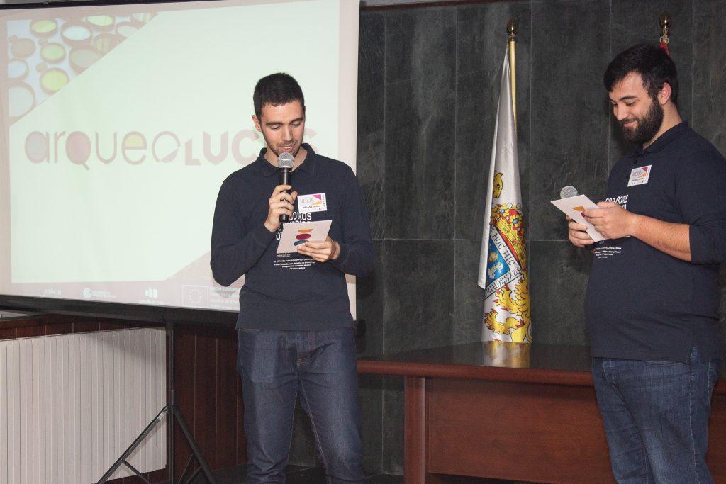 2. Nico y Andrés, presentadores del evento-2