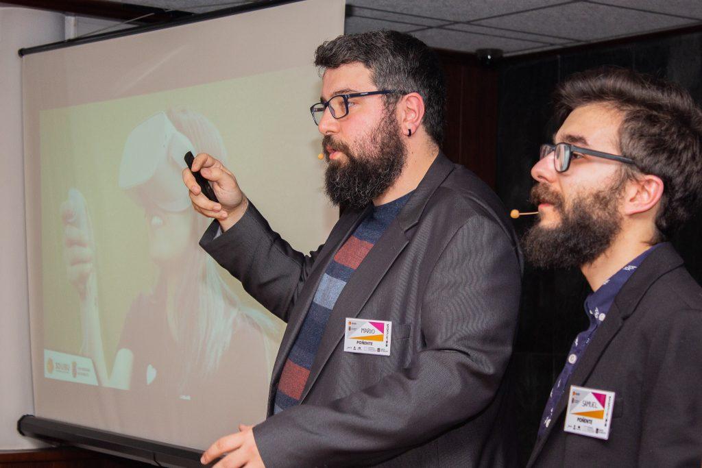 9. Mario y Samuel, integrantes de 3dUBU-2